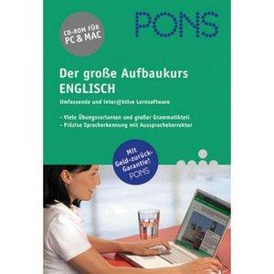 Pons: Der große Aufbaukurs - Englisch (deutsch) (PC/MAC)