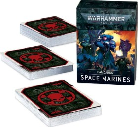Games Workshop Warhammer 40.000 - Datakarten: Space Marines 9. Edition (DE) (04050101002)