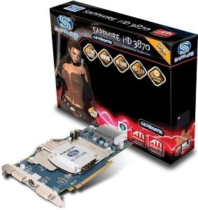 Sapphire Ultimate Radeon HD 3870,  512MB GDDR4, 2x DVI, TV-out, PCIe 2.0, full retail (11122-08-40R)