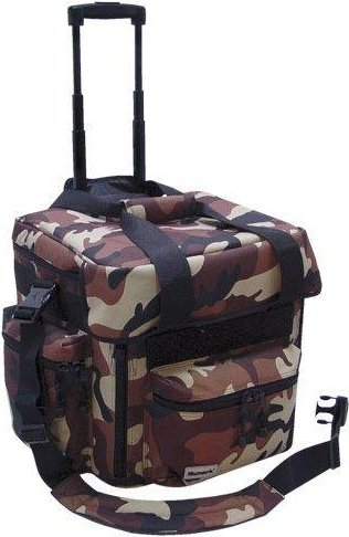 Numark LTX2 DJ-Trolley camouflage braun -- via Amazon Partnerprogramm