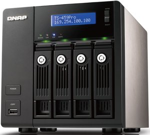 Qnap Turbo station TS-459 Pro 4500GB, 2x Gb LAN