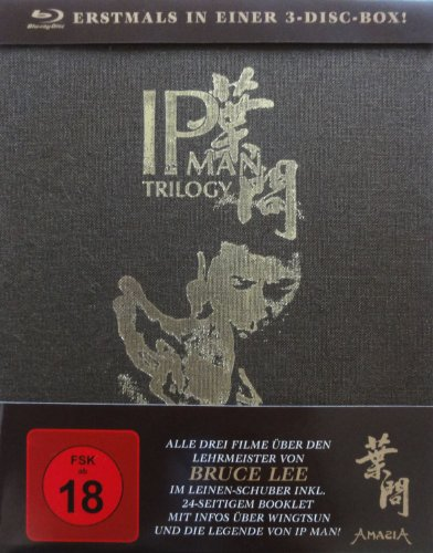 IP Man Trilogy (Special Editions) (Blu-ray) -- via Amazon Partnerprogramm