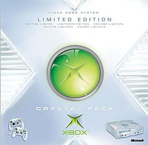 Microsoft Xbox Crystal Pack + 1 Spiel