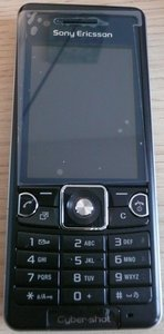 Sony Ericsson C510 future black -- this photo became freundlicherweise of einem Nutzer for disposal putting