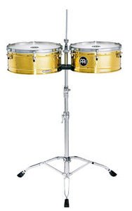 Meinl LC1BRASS Solid Brass Artist Serie Luis Conte Timbales