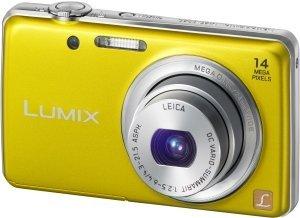 Panasonic Lumix DMC-FS40 yellow