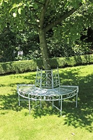 Garden Pleasure Baumbank Hälfte 3er Gartenbank