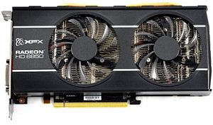 XFX Radeon HD 6850 XXX Dual Fan, 1GB GDDR5, 2x DVI, HDMI, DisplayPort (HD-685X-ZDDC)