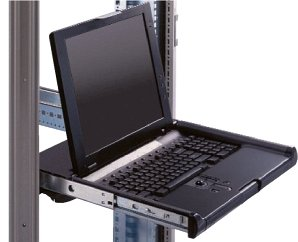 "HP Compaq TFT5600-RKM 15"", 1024x768, analog, including Keyboard (various languages) (AB243A/22156-041)"