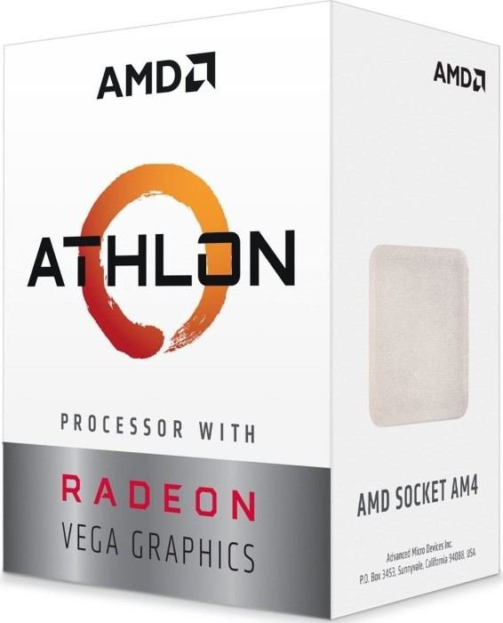 AMD Athlon 240GE, 2x 3.50GHz, boxed (YD240GC6FBBOX)