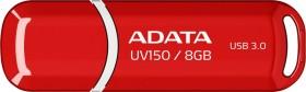 ADATA DashDrive UV150 rot 8GB, USB-A 3.0 (AUV150-8G-RRD)
