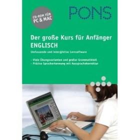 Pons Der große Kurs für Anfänger - Englisch (deutsch) (PC/MAC)