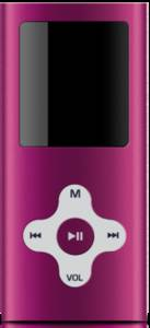 Sweex MP474 Vidi 4GB pink