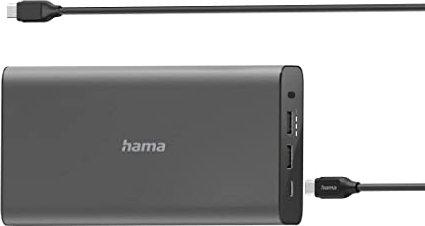 Hama Power Pack USB-C Power Delivery 26800mAh schwarz (54175) -- via Amazon Partnerprogramm