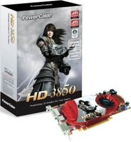 PowerColor Radeon HD 3850, 256MB DDR3 (A67C-PD3)
