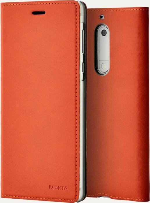 meet cb0e8 fae7a Nokia CP-302 slim Flip case for Nokia 5 copper (1A21ML100VA)