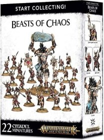 Games Workshop Warhammer Age of Sigmar - Beasts of Chaos - Start Collecting! Beasts of Chaos (99120216010)