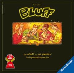 Ravensburger Bluff Brettspiel Gesellschaftsspiel Limitierte Auflage 25 Jahre Spiele