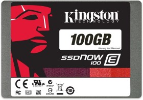 Kingston SSDNow E100 SSD 100GB, SATA (SE100S37/100G)