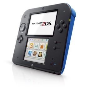 Nintendo 2DS schwarz/blau