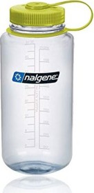 Nalgene Wide Mouth Trinkflasche 1l clear/green (2178-2027)