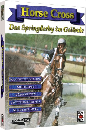 Horse Cross: Das Springderby (niemiecki) (PC) -- via Amazon Partnerprogramm