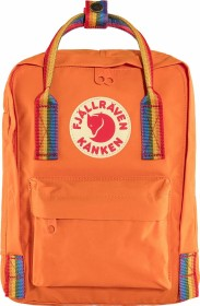 Fjällräven Kanken Rainbow Mini burnt orange/rainbow pattern (F23621-212-907)