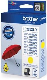 Brother Tinte LC225XL Y gelb