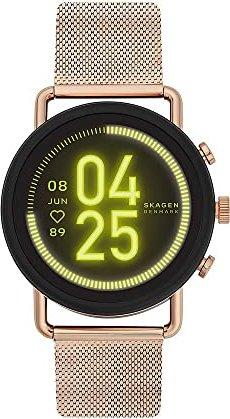 Skagen Connected Falster 3 schwarz/gold mit Milinaise-Armband gold (SKT5204) -- von uhr24.de