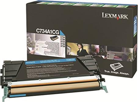 Lexmark C734A1CG Return Toner cyan -- via Amazon Partnerprogramm