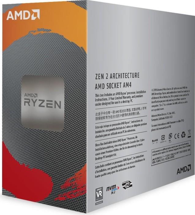 Bild von AMD Ryzen 5 3600, 6C/12T, 3.60-4.20GHz, boxed (100-100000031BOX)