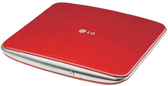 LG Electronics GP40NR10 red, USB 2.0