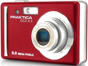 Pentacon Praktica DCZ 8.3 red