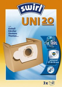 Swirl Uni 20 Classic vacuum cleaner bag