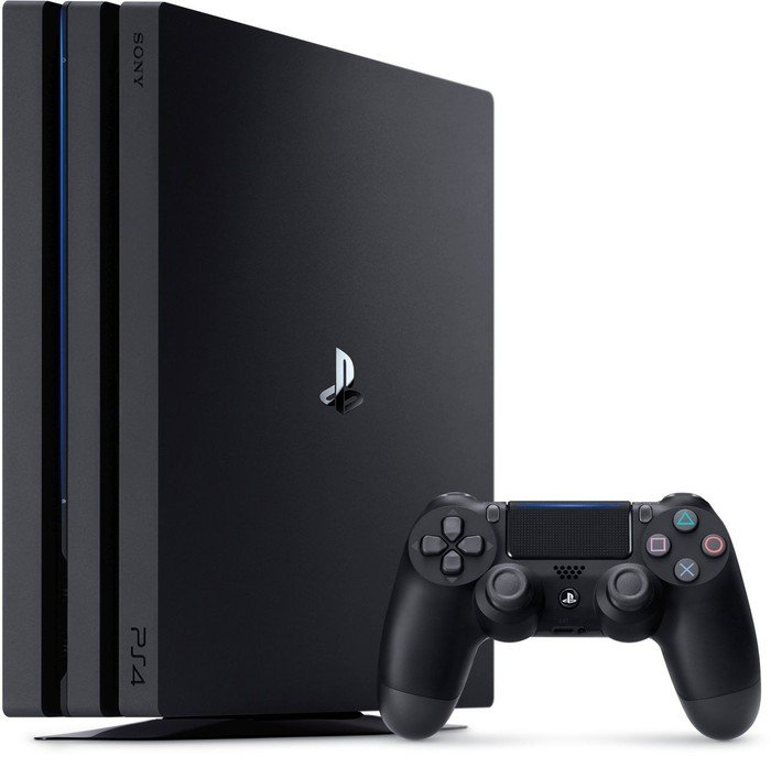 Sony Playstation 4 Pro - 1TB, black