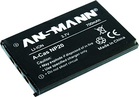 Ansmann A-Cas NP-20 Li-Ionen-Akku (5022773) -- via Amazon Partnerprogramm