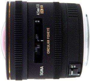 Sigma AF 4.5mm 2.8 EX DC HSM circular fisheye for Canon EF black (486954)
