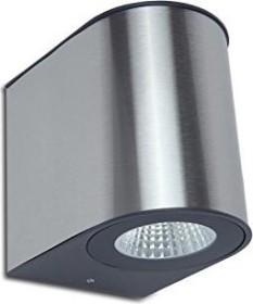 Lutec Gemini 1890M LED Wandleuchte Edelstahl (5189001118)