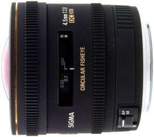 Sigma AF 4.5mm 2.8 EX DC HSM circular fisheye for Nikon F black (486955)