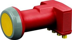 Schwaiger Sun Protect - Digitales Quattro LNB Karton ziegelrot (SPS6818R 511)