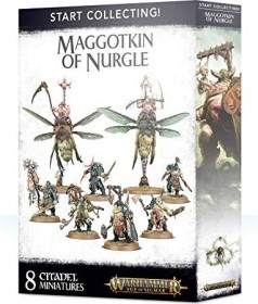 Games Workshop Warhammer Age of Sigmar - Maggotkin of Nurgle - Start Collecting! Maggotkin of Nurgle (99120201079)