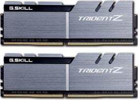 G.Skill Trident Z silber/schwarz DIMM Kit 32GB, DDR4-3200, CL16-18-18-38 (F4-3200C16D-32GTZSK)