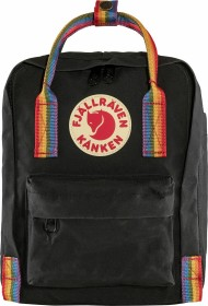 Fjällräven Kanken Rainbow Mini black/rainbow pattern (F23621-550-907)