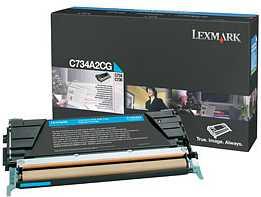 Lexmark Toner C734A2CG cyan