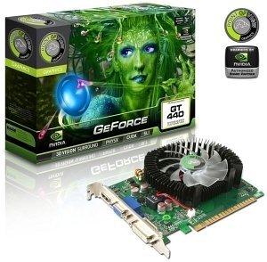 Point of View GeForce GT 440, 1GB DDR3, VGA, DVI, HDMI (VGA-440-A1-1024-C)