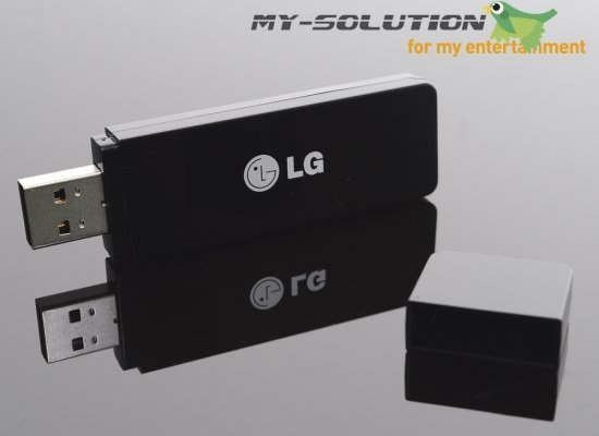 LG Electronics AN-WF100 Wi-Fi USB adapter -- © My-Solution.de