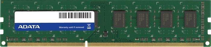 ADATA Premier DIMM 8GB, DDR3-1600, CL11, single tray (AD3U1600W8G11-S)