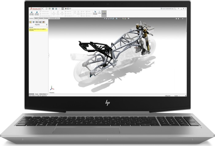 HP ZBook 15v G5, Core i5-8400H, 8GB RAM, 256GB SSD (4QH22EA#ABD)