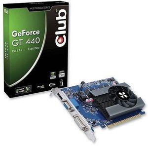 Club 3D GeForce GT 440 (667MHz), 1GB DDR3, VGA, DVI, HDMI (CGNX-G4424ZCI)