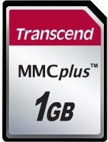 Transcend MultiMedia Card (MMCplus) Plus 1GB (TS1GMMC4)
